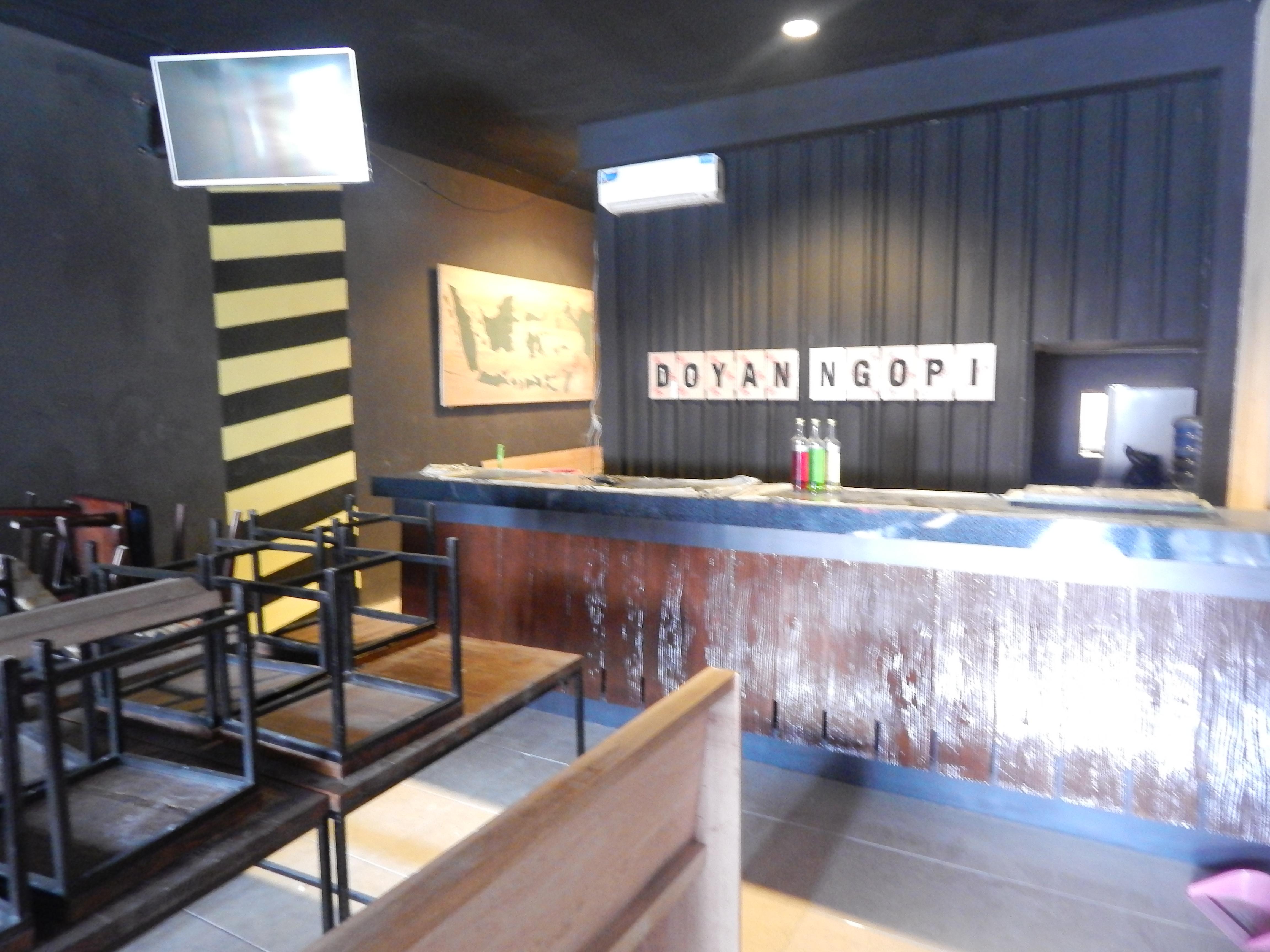 Desain Interior Cafe Yogyakarta Elegan
