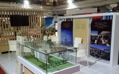 Interior Booth Pameran Horison di Jogja